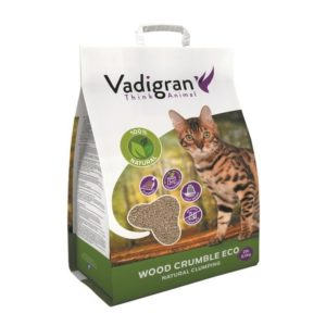 Litière Cat Litter Wood 10L