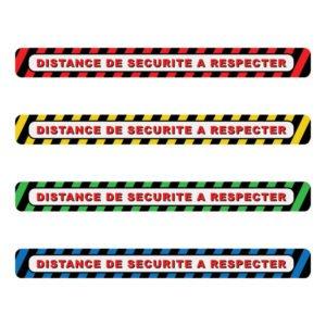 Bandes de délimitation spéciale COVID-19