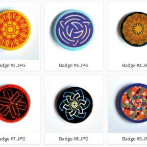 Badge ou Magnet – #01 à #10 par LOUIS 21