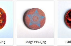 Badge ou Magnet — #101 à #105 par LOUIS 21