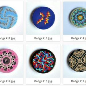 Badge ou Magnet – #11 à #20 par LOUIS 21