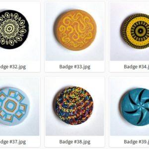Badge et Magnet