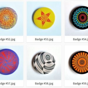 Badge ou Magnet – #51 à #60 par LOUIS 21