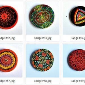 Badge ou Magnet – #81 à #90 par LOUIS 21