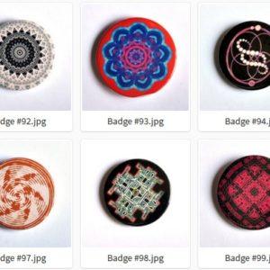 Badge ou Magnet – #91 à #100 par LOUIS 21