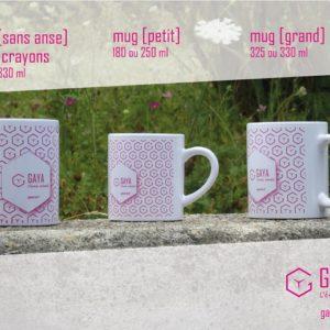 Mugs ou Pot à crayon – Panachage