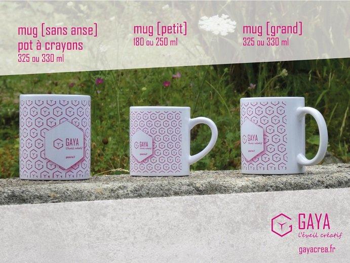 Mug et Pot à crayons